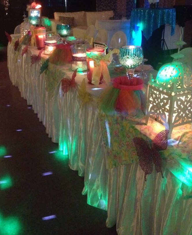 Butterfly VIP Table