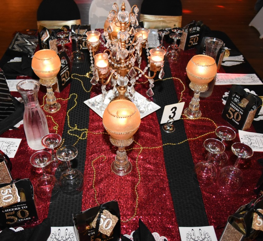 Roaring 20's Guest Table