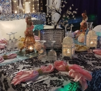 Light Blue & Light Pink Paris VIP Table