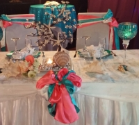 Beach Theme Sweetheart Table